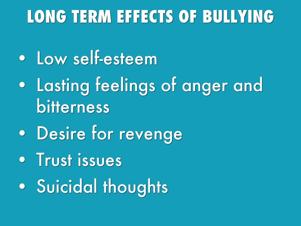 Bullying in Schools: Causes, Effects and Possible Solutions