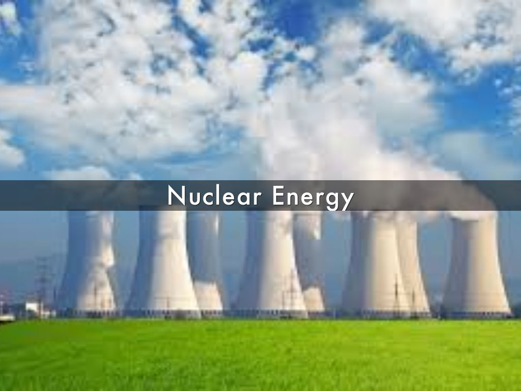 nuclear energy an alternate solution for