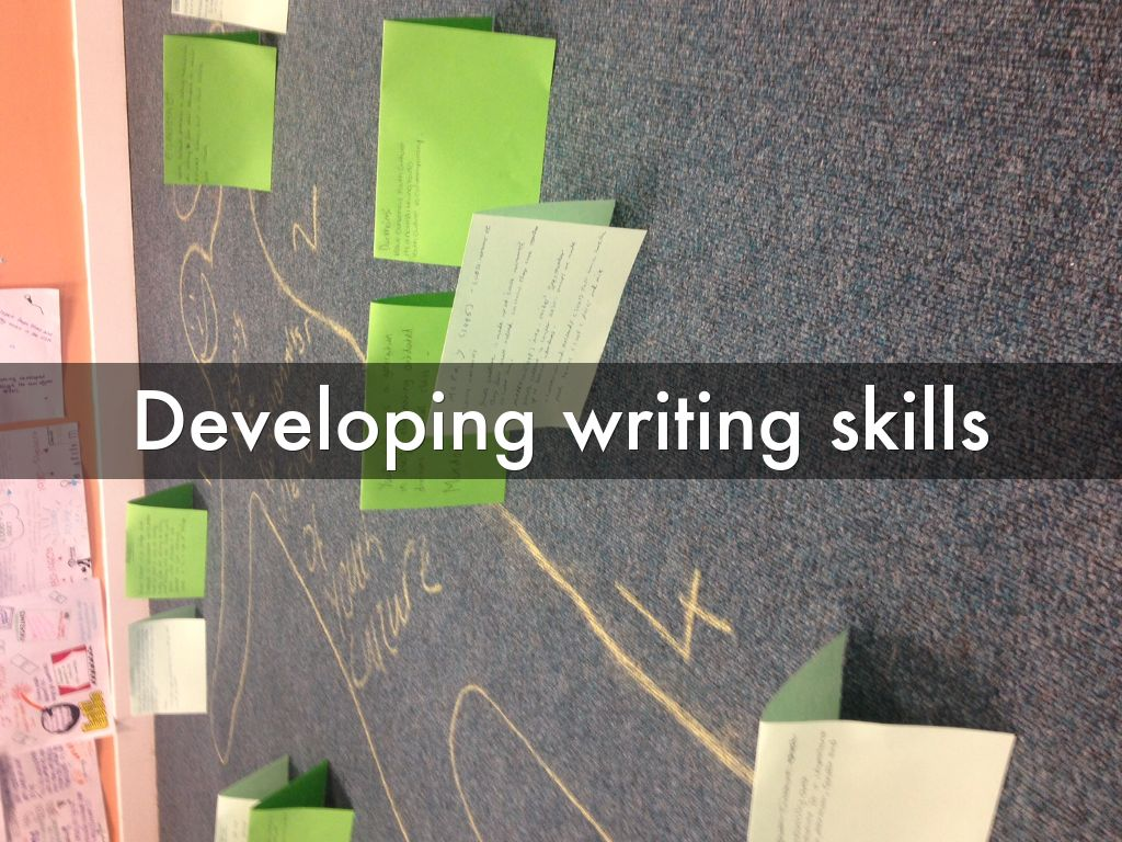 developing writing Writing is a terrific way for children to express their thoughts, creativity, and uniqueness it is also a fundamental way in which children learn to organize ideas and helps them to be better readers.