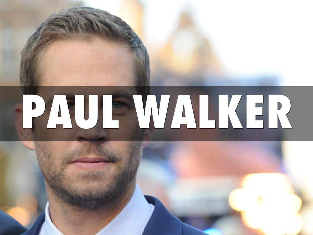 Paul Walker Black And White Outline