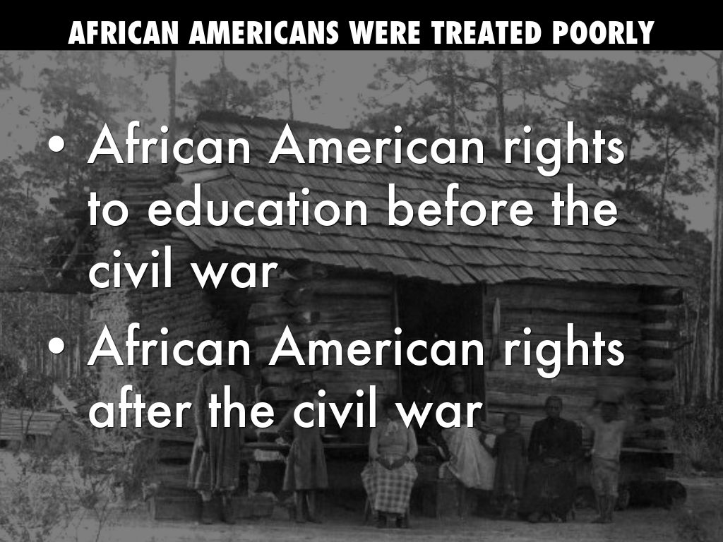 the unequal treatment of african american women after the civil war