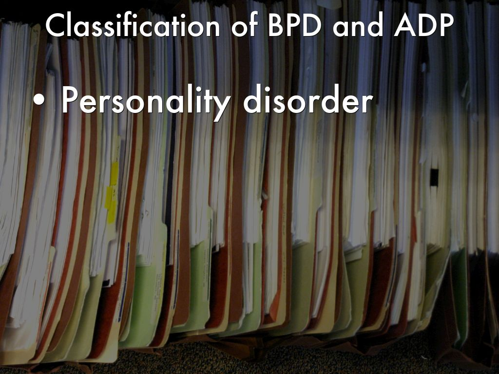 the description of the antisocial personality disorder apd Patients with antisocial personality disorder (apd) have traditionally been   rogerian and psychopharmacological, to identify treatment goals,.