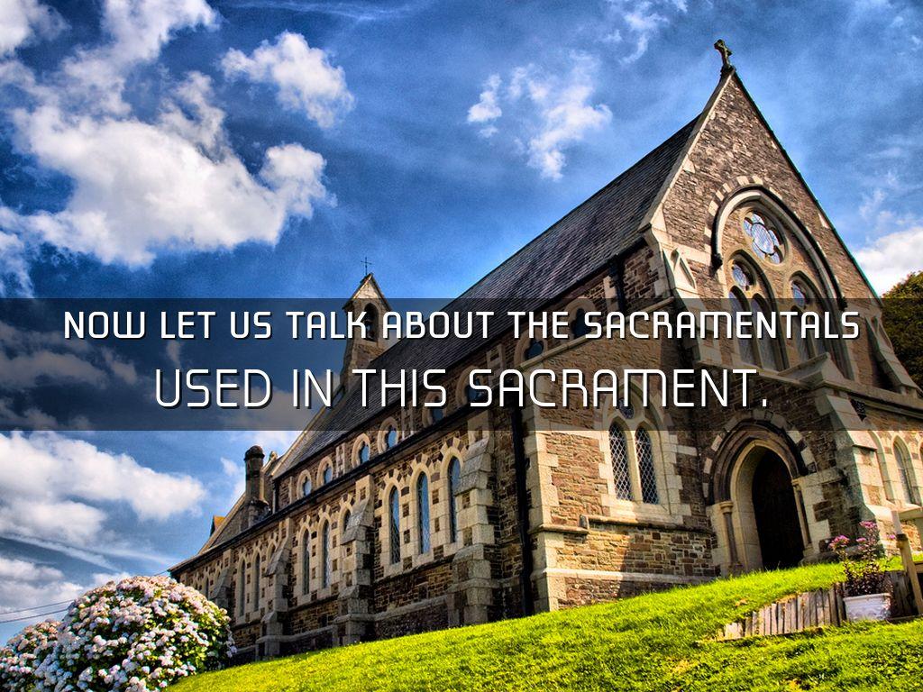 Sacramentals in baptism by jaden coen dc reyes now let us talk about the sacramentals buycottarizona Gallery