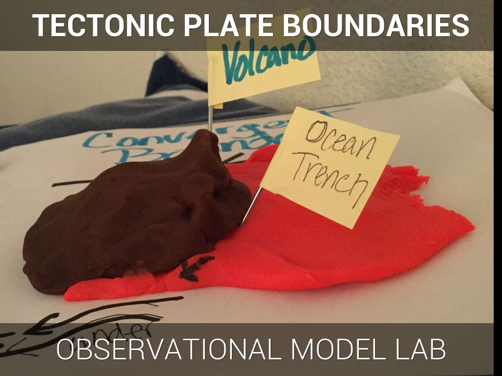 tectonic plate boundary models by john cavazos
