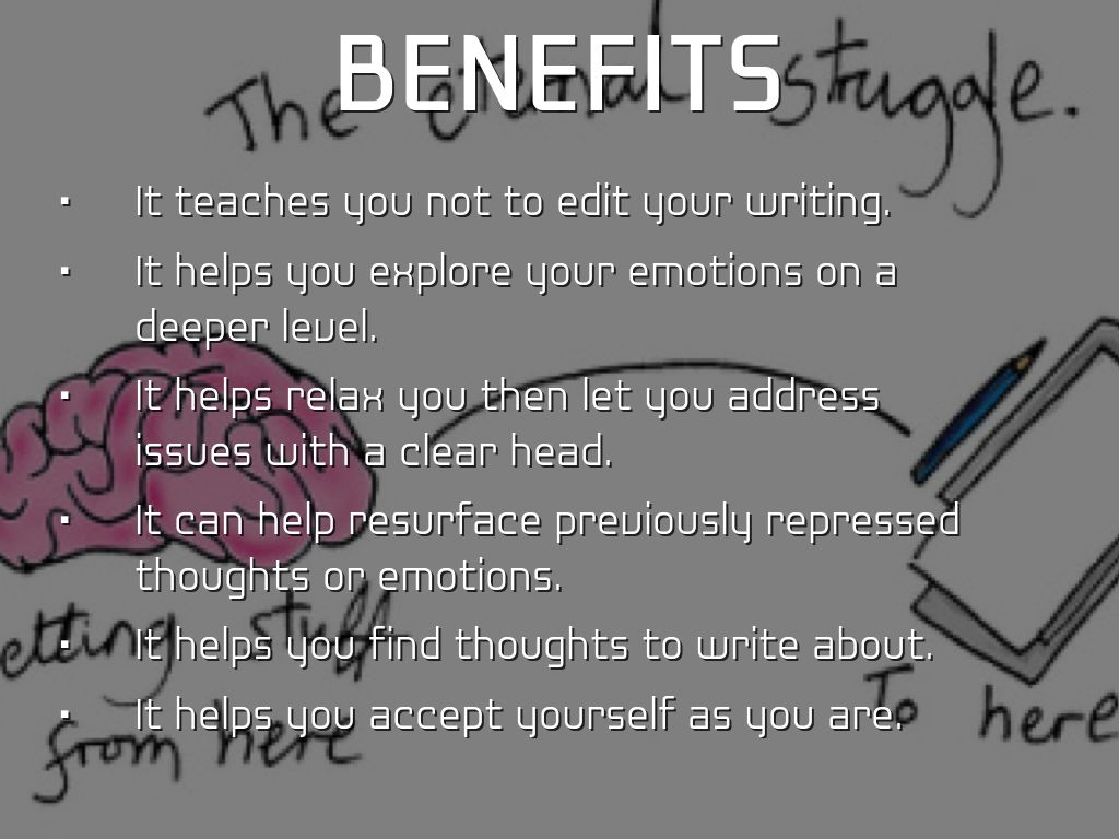 The Benefits of Free Writing