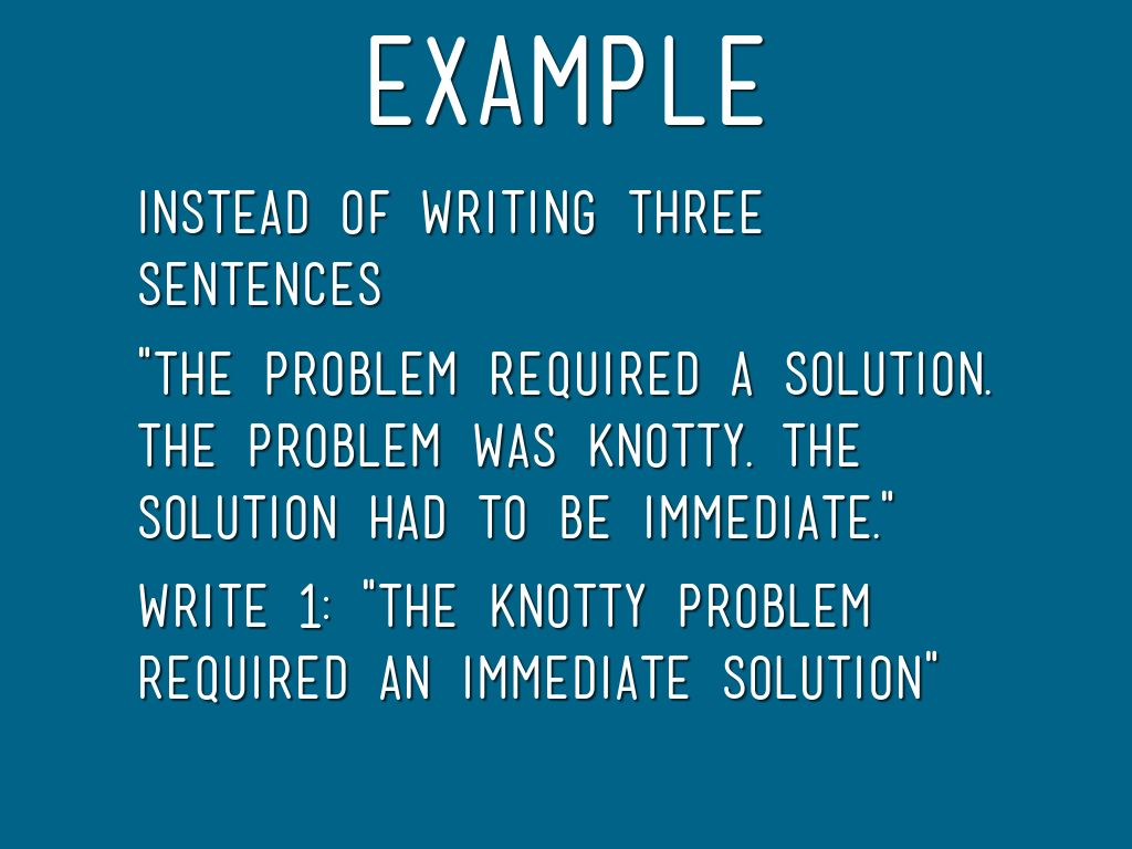 Sentence Variety In your writing by Mary Petty