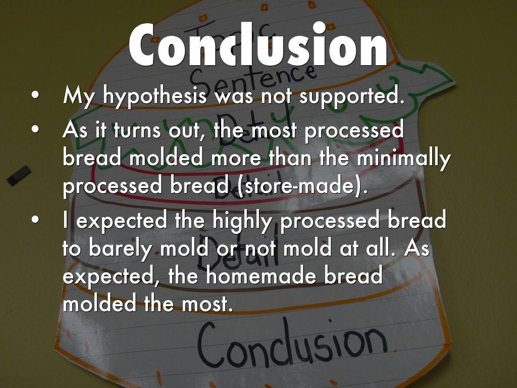 bread mold hypothesis