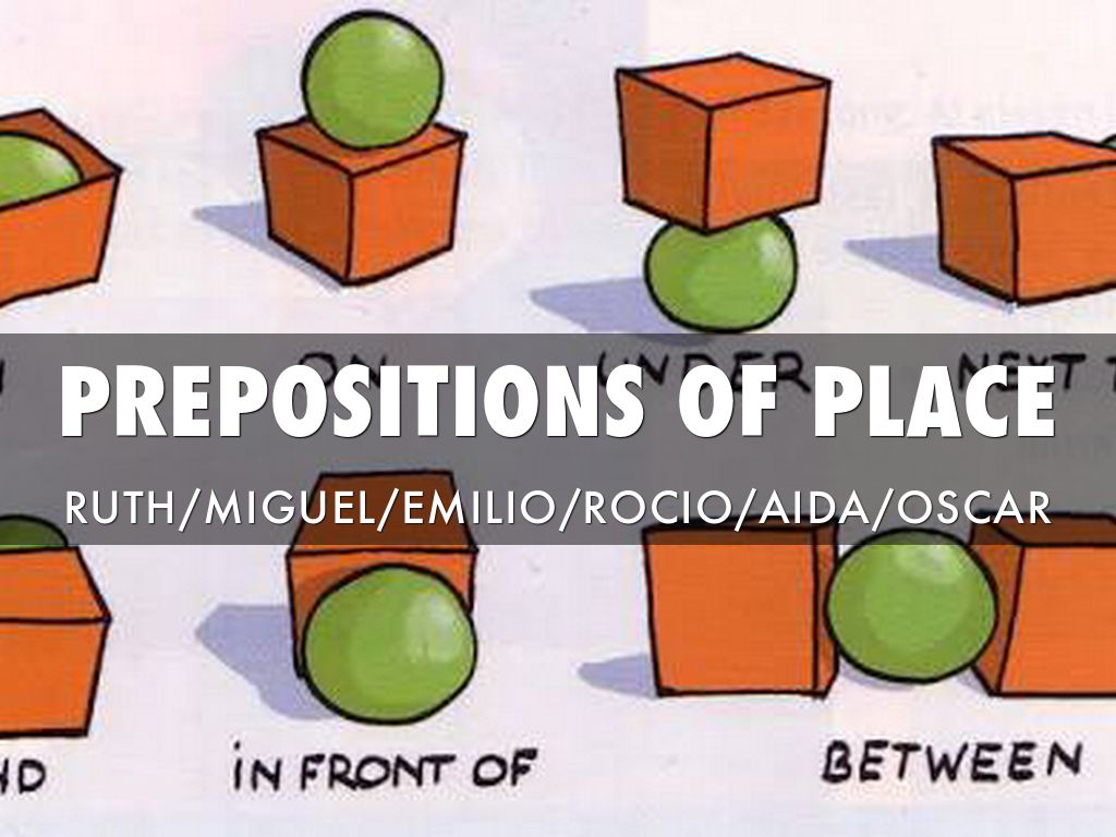 Preposition In Learn In Marathi All Complate: Prepositions Of Place By Oscar Zamarripa Del Moral