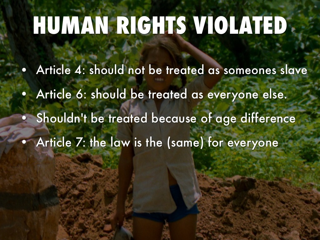 human violations Article 18 everyone has the right to freedom of thought, conscience and religion this right includes freedom to change his religion or belief, and.