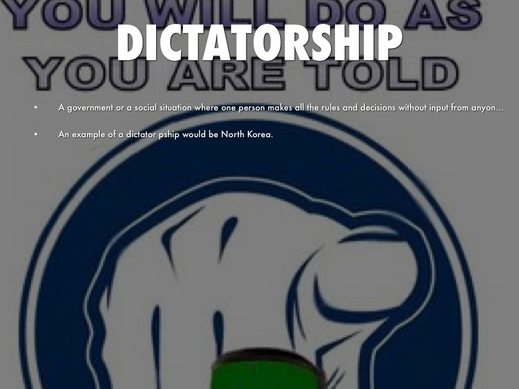 Dictatorship Government Pictures to Pin on Pinterest ...