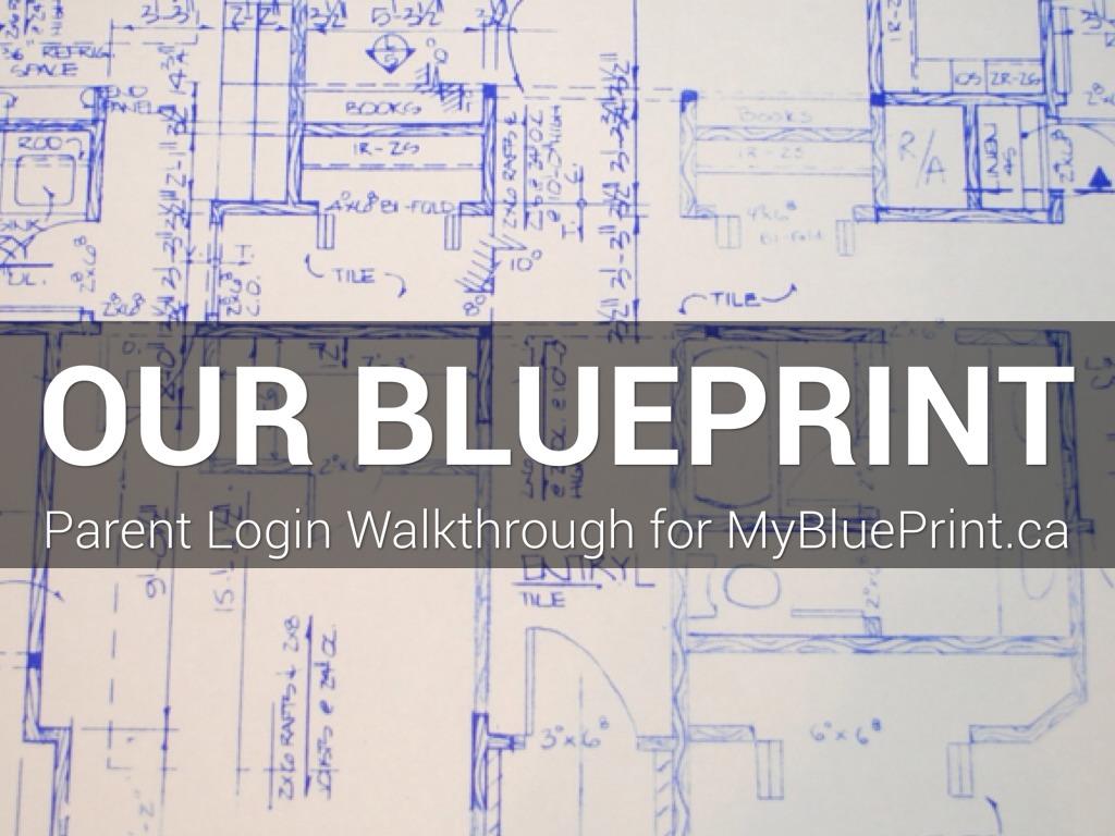 MyBluePrint.ca - Parent