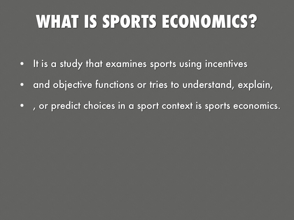 economics in sports If so, a degree in economics might be right for you in this guide, explore all you need to know about economics degrees, from entry requirements to career options.