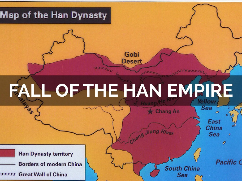 fall han dynasty essay The roman empire and the han dynasty entered a decline and collapse between 200 ce and 600 ce as a result of numerous internal and external conflicts.