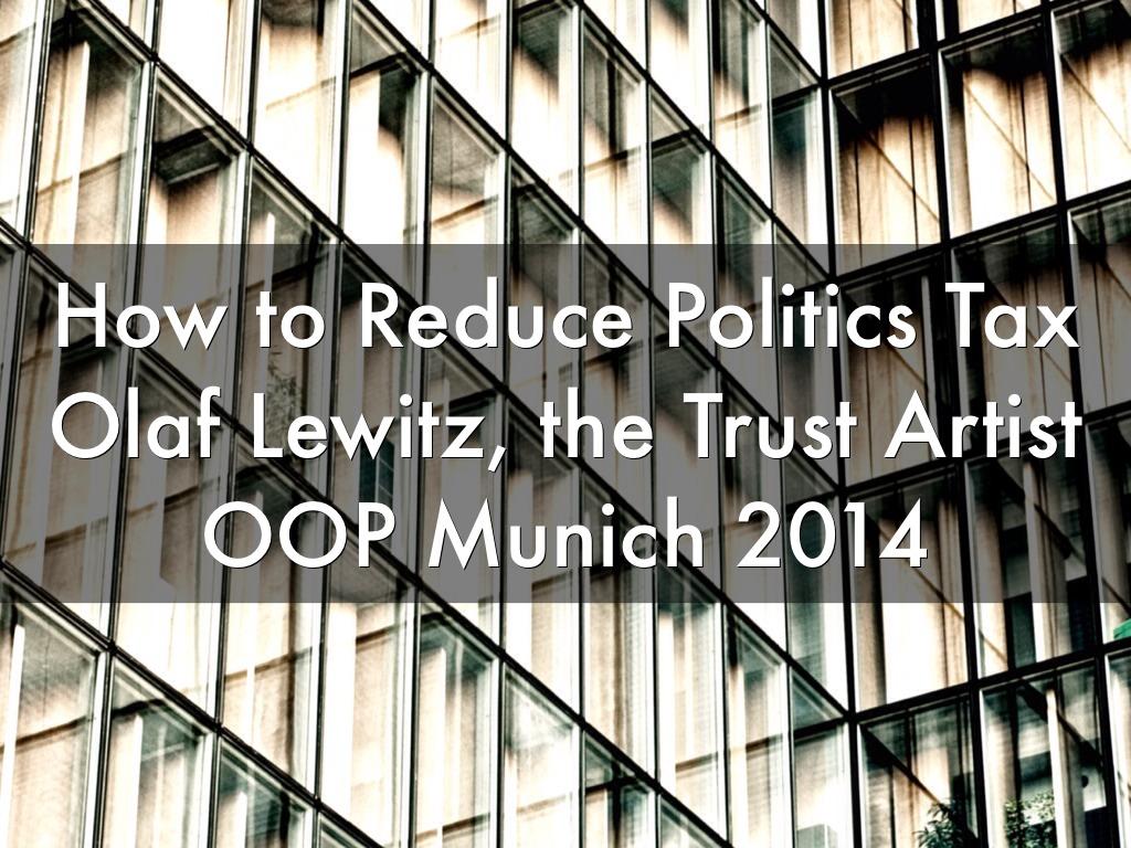 Politik Reduzieren