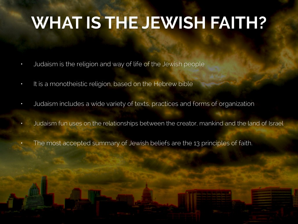 an analysis of the justification by faith in the jewish religion Faith and reason traditionally, faith and reason have each been considered to be sources of justification for religious belief because both can purportedly serve this same epistemic function, it has been a matter of much interest to philosophers and theologians how the two are related and thus how the rational agent should treat.