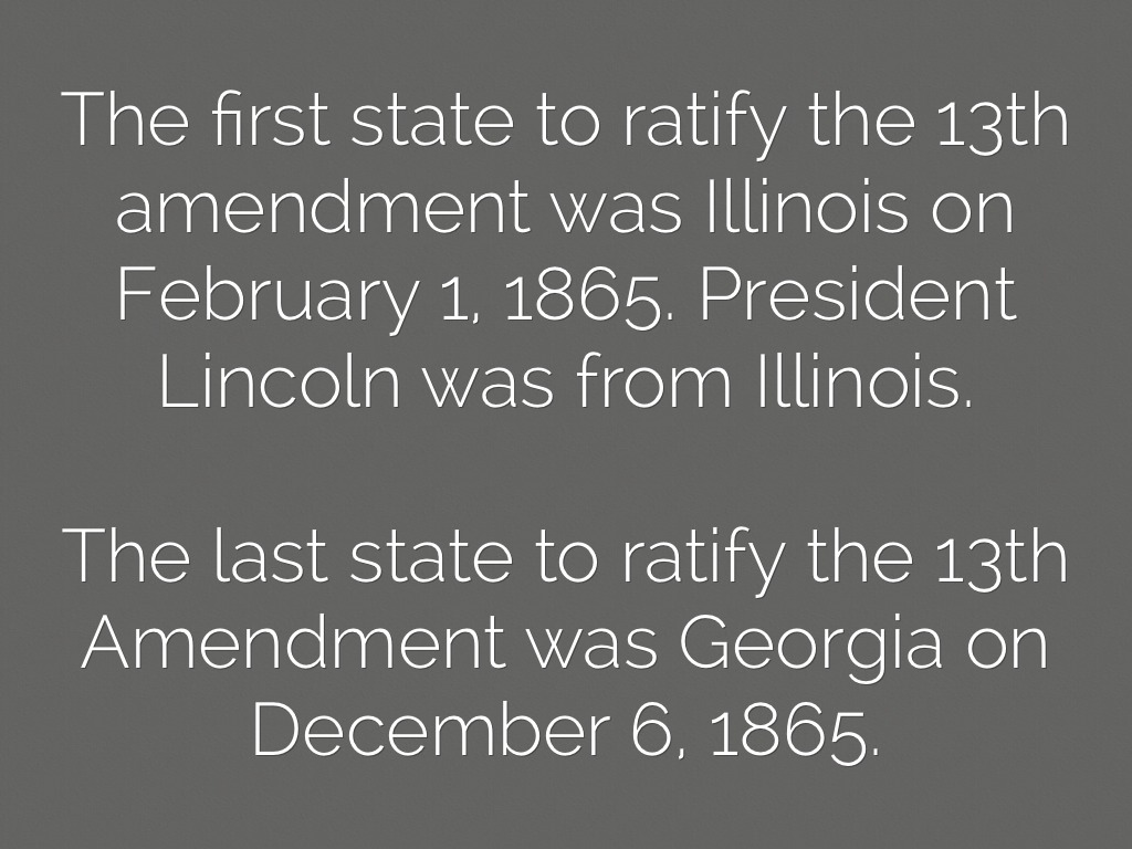 a discussion on life in the united states after the 13th and 14th amendments The constitution is the highest law in the united states  define the 4th 5th 6th and 14th amendments  significance of 13th, 14th, 15th amendments  13th.