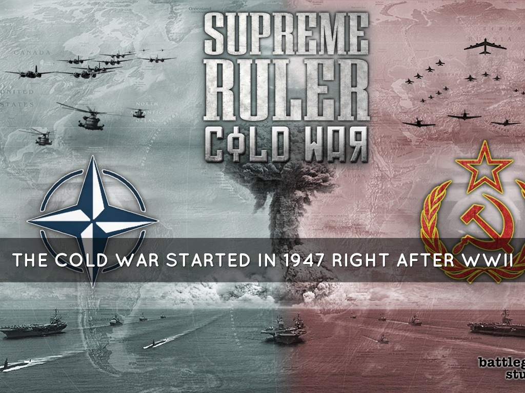 cold war us started it