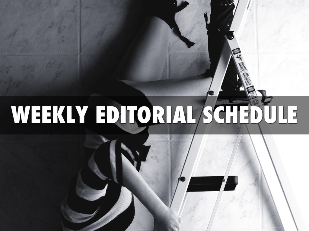 Editorial Schedule For Emmas Designblogg