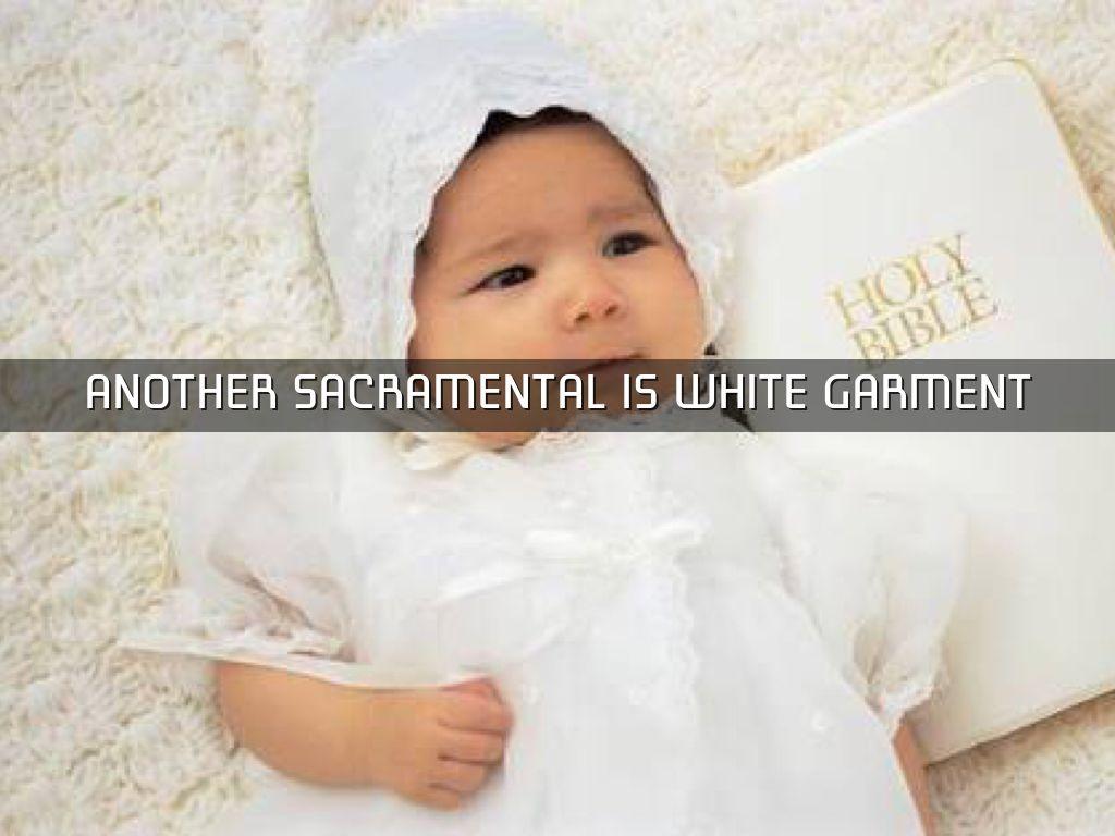 Sacramentals in baptism by jaden coen dc reyes another sacramental is white garment buycottarizona Gallery