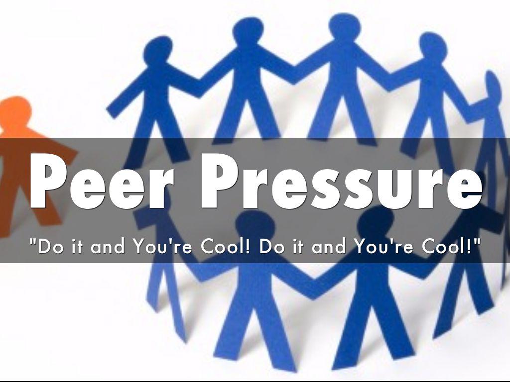 Peer Pressure By Logwiebe