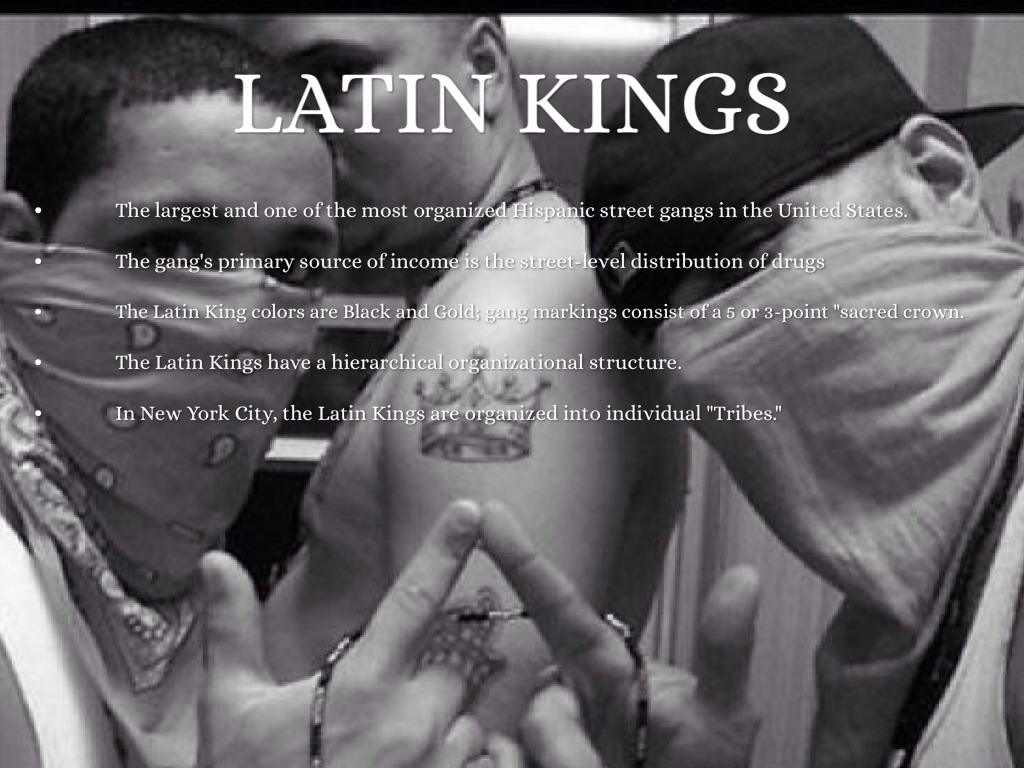 Gangs by victor laureano the latin kings buycottarizona