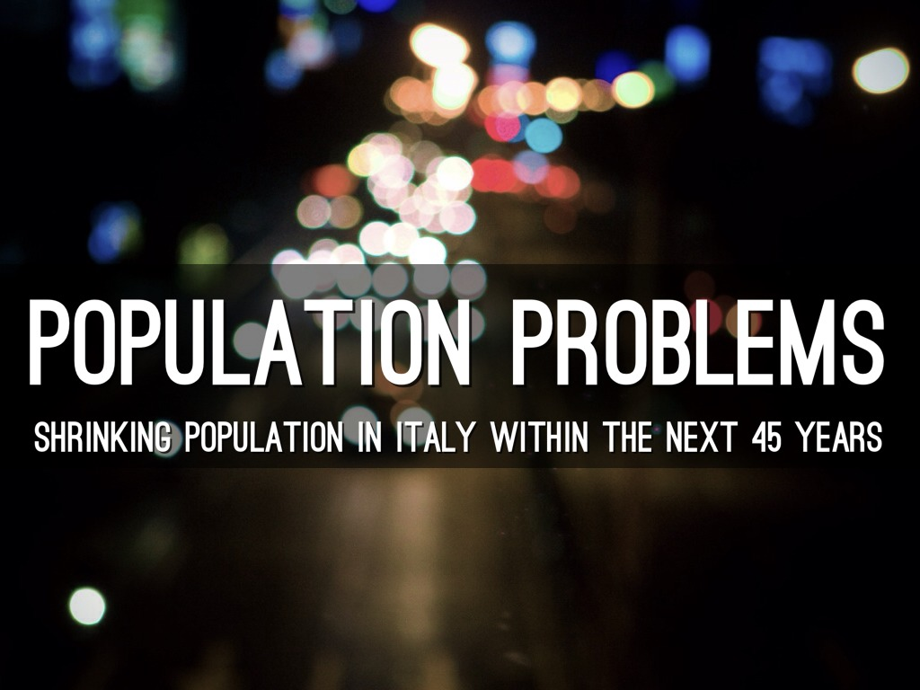 the population problem The world's population will soon reach a level where there will not be enough resources to sustain life as we know it growth must be checked to avoid this catastrophe.
