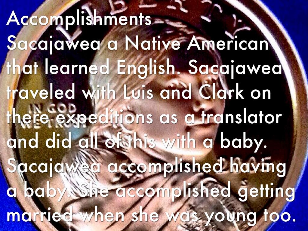 sacagawea accomplishments