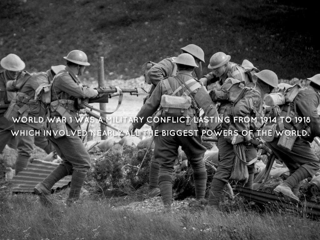 25 Facts of World War 1 by Sam Alvarez