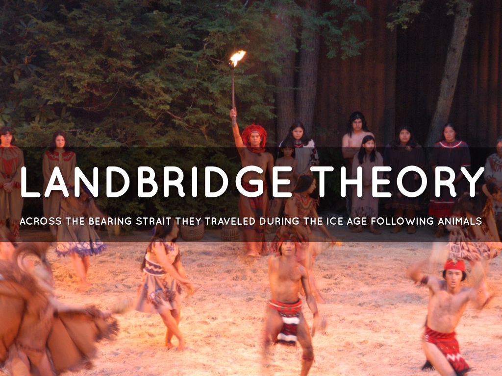land bridge theory