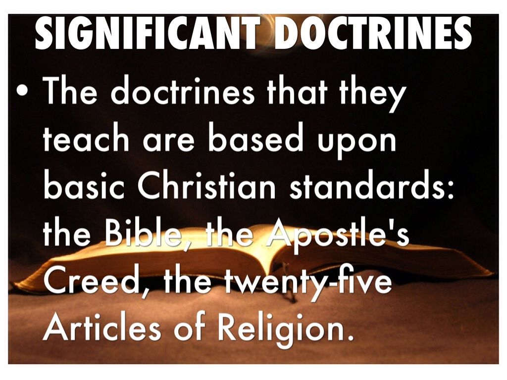 significance of doctrine