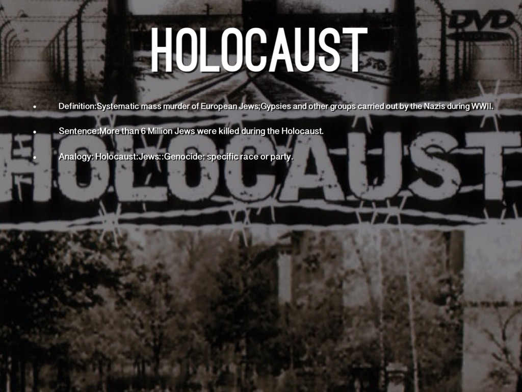 the holocaust Learn important facts about the holocaust and understand what lead to this tragic event read holocaust statistics and a review a timeline of events.