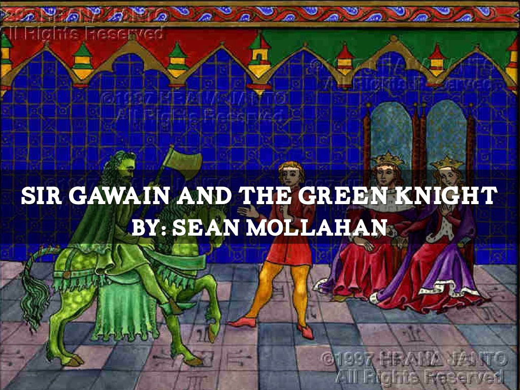 the green knight essays