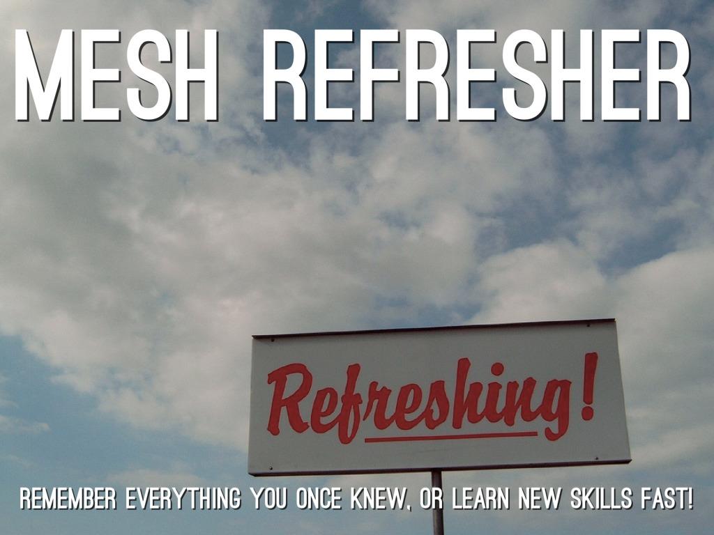 MeSH Refresher