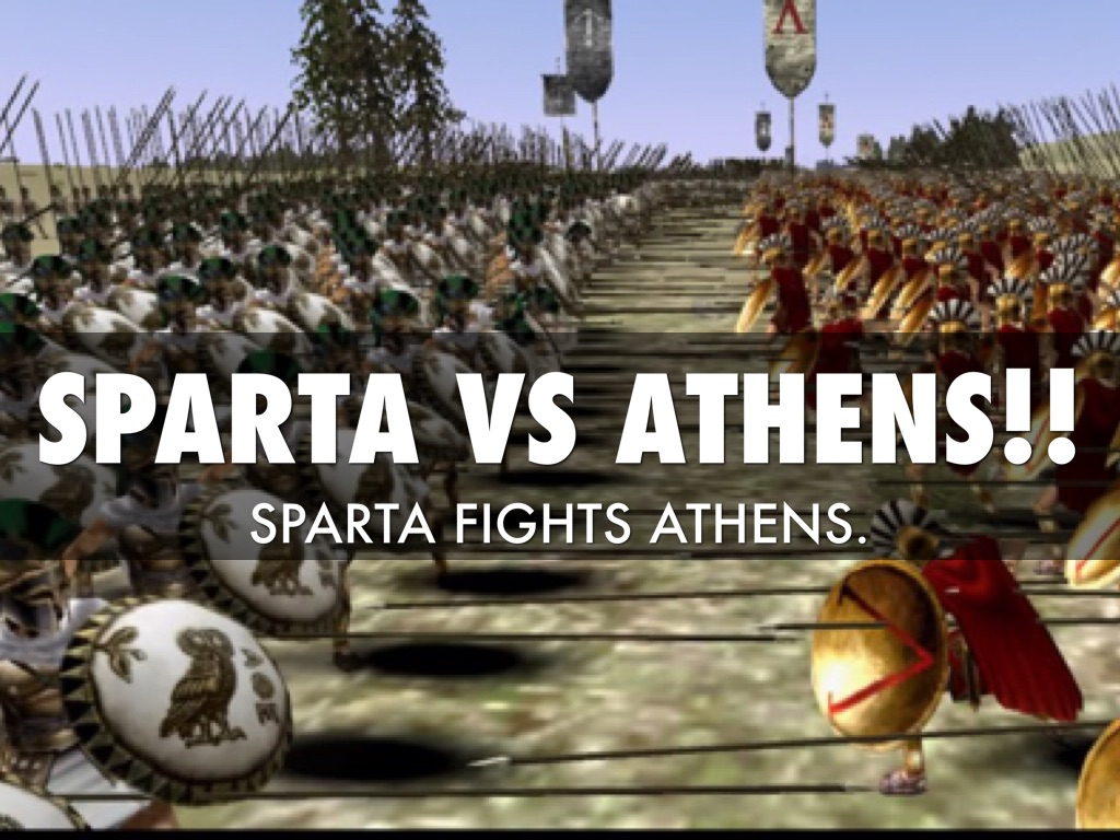 athens vs sparta Quick visual on the differences between spartan and athenian life.