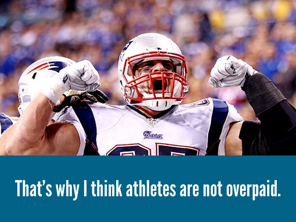 are athletes overpaid