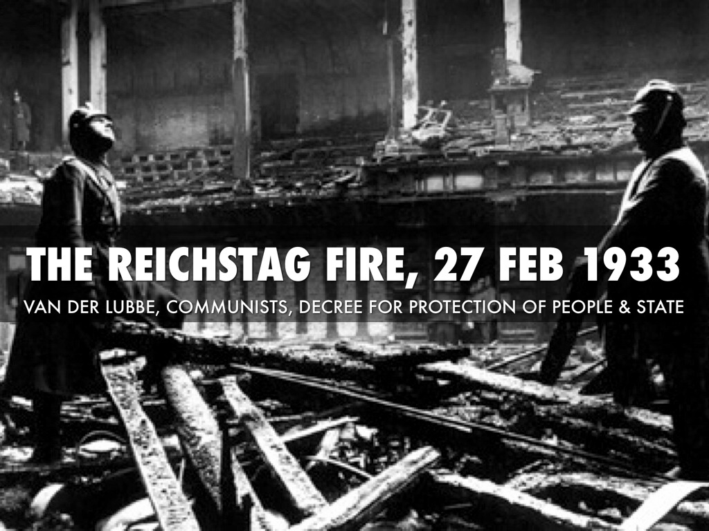 was the reichstag fire the main Reichstag fire decree the reichstag fire decree is the common name of the order of the reich's president for the protection of people and state issued by german president paul von hindenburg in direct response to the reichstag fire of february 27, 1933.