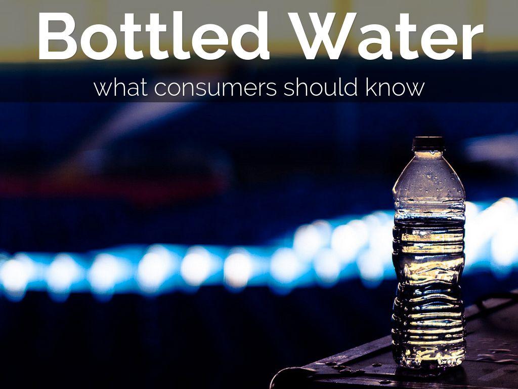 Bottled Water By Jlemon21