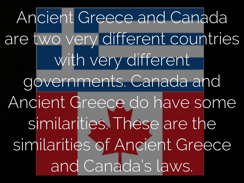 differences and similarities of greek and