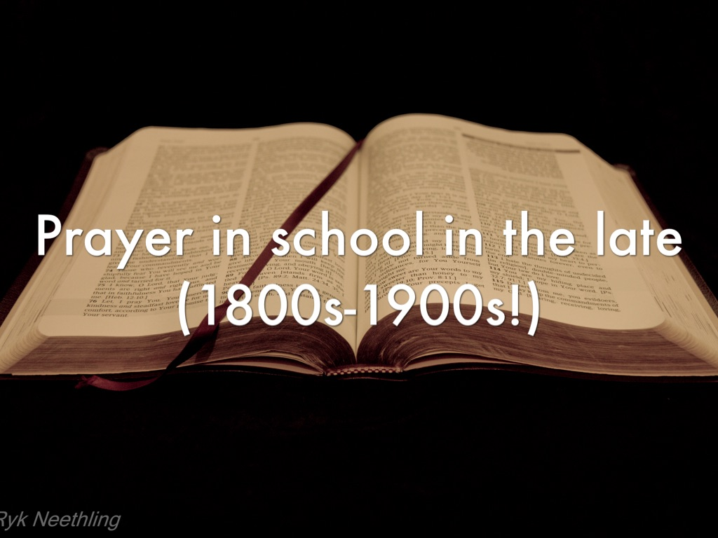 the case against school prayer The bremerton school district suspended, and later fired, coach kennedy over his silent, 15-second prayer first liberty institute filed a lawsuit against the school district.