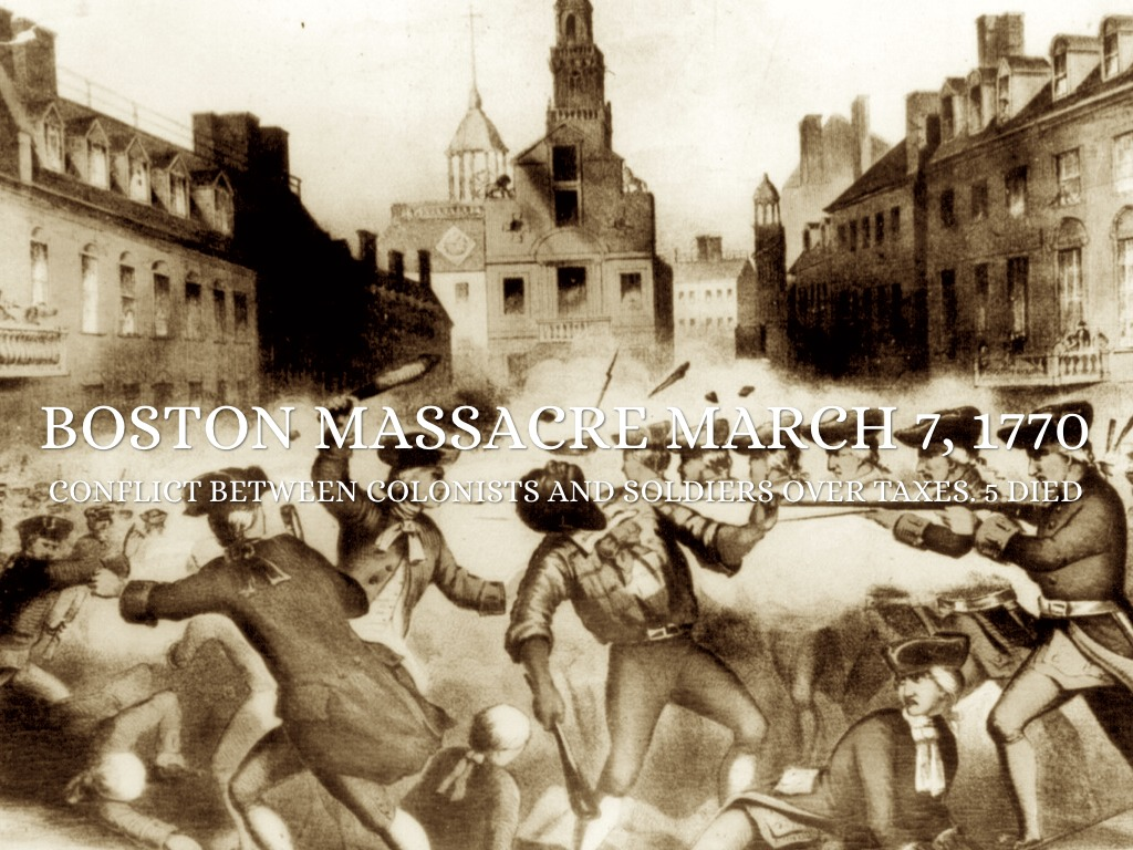 a review of the events surrounding the boston massacre The fifth of march: a story of the boston massacre user review - jane doe - kirkus carefully researched and lovingly written, rinaldi's latest presents a girl indentured to john and abigail adams during the tense period surrounding the 1770 massacre.
