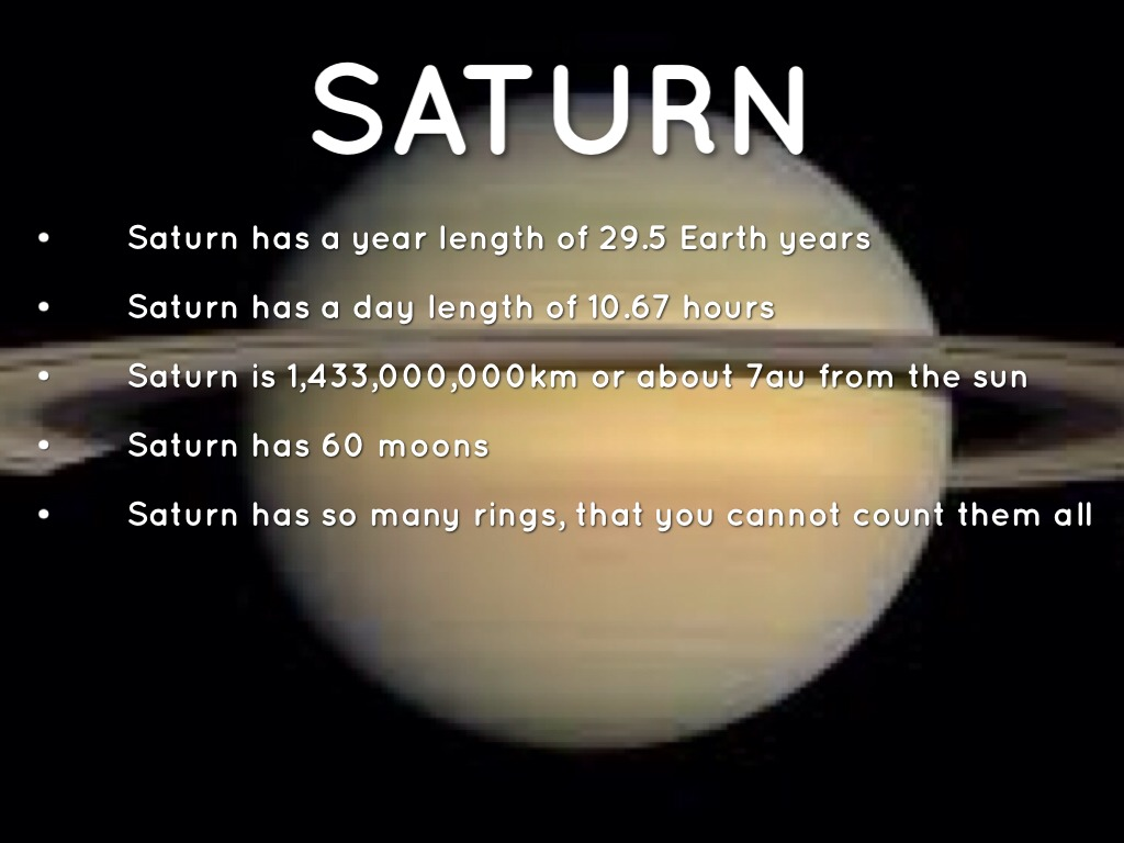 Solar System Fact Project by ajterry34