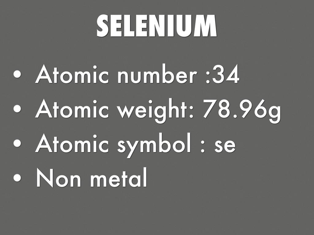 Selenium by brandonisegeier15 slide notes buycottarizona