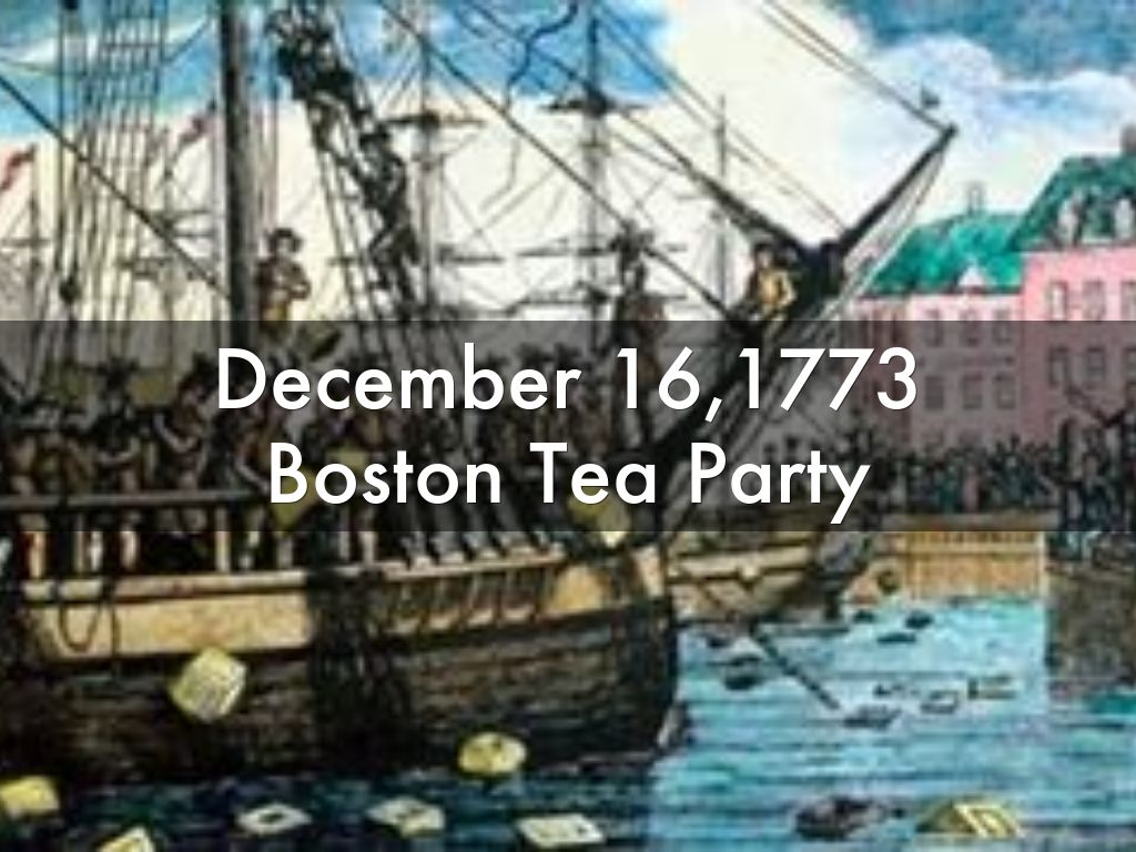 December 161773 Boston Tea Party by imanililly81