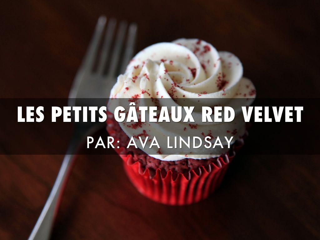 Les Petits Gâteau Red Velvet