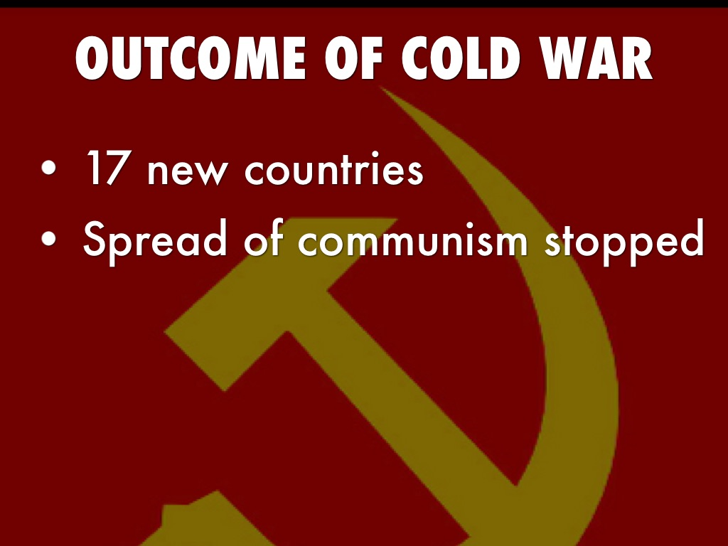 the background and outcome of the cold war