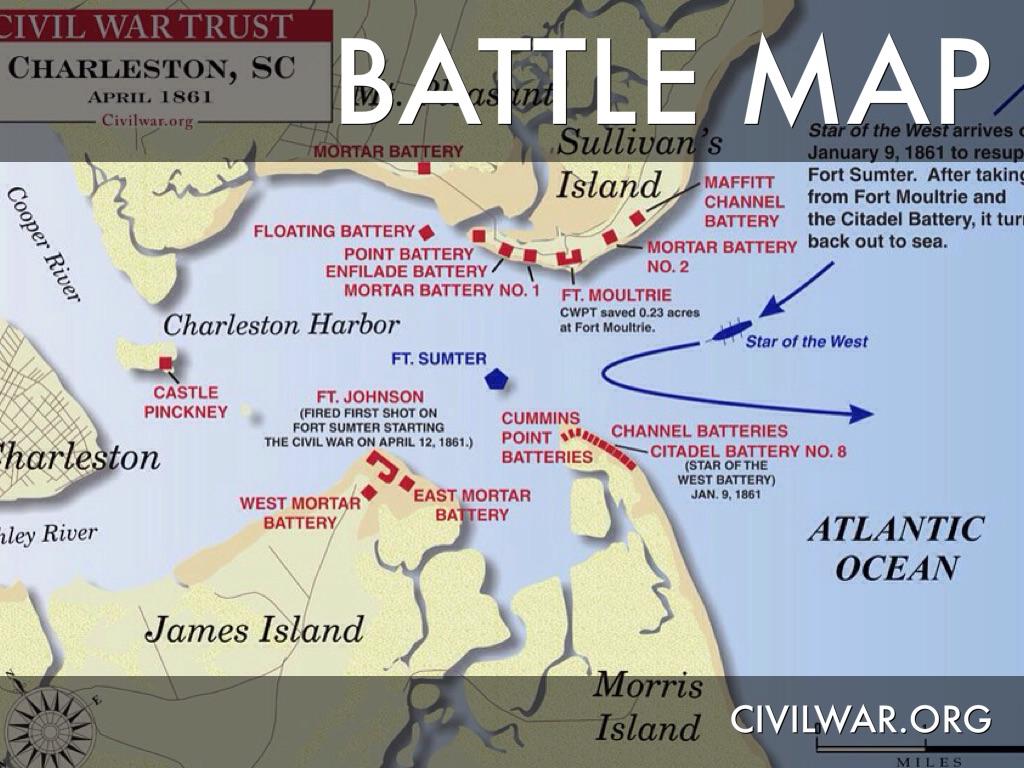 Battle of Fort Sumter by Laurel Kuyrkendall