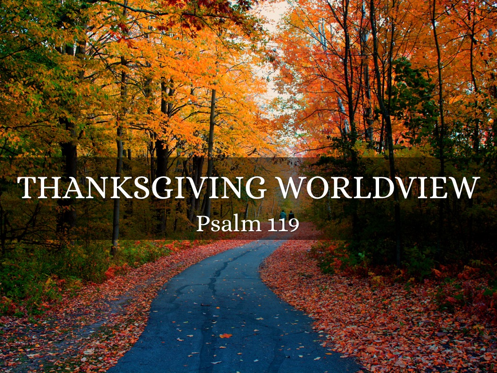 Thanksgiving Worldview