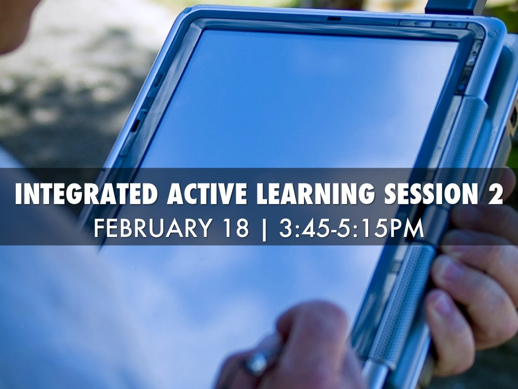 IntegratED Active Learning Session 2