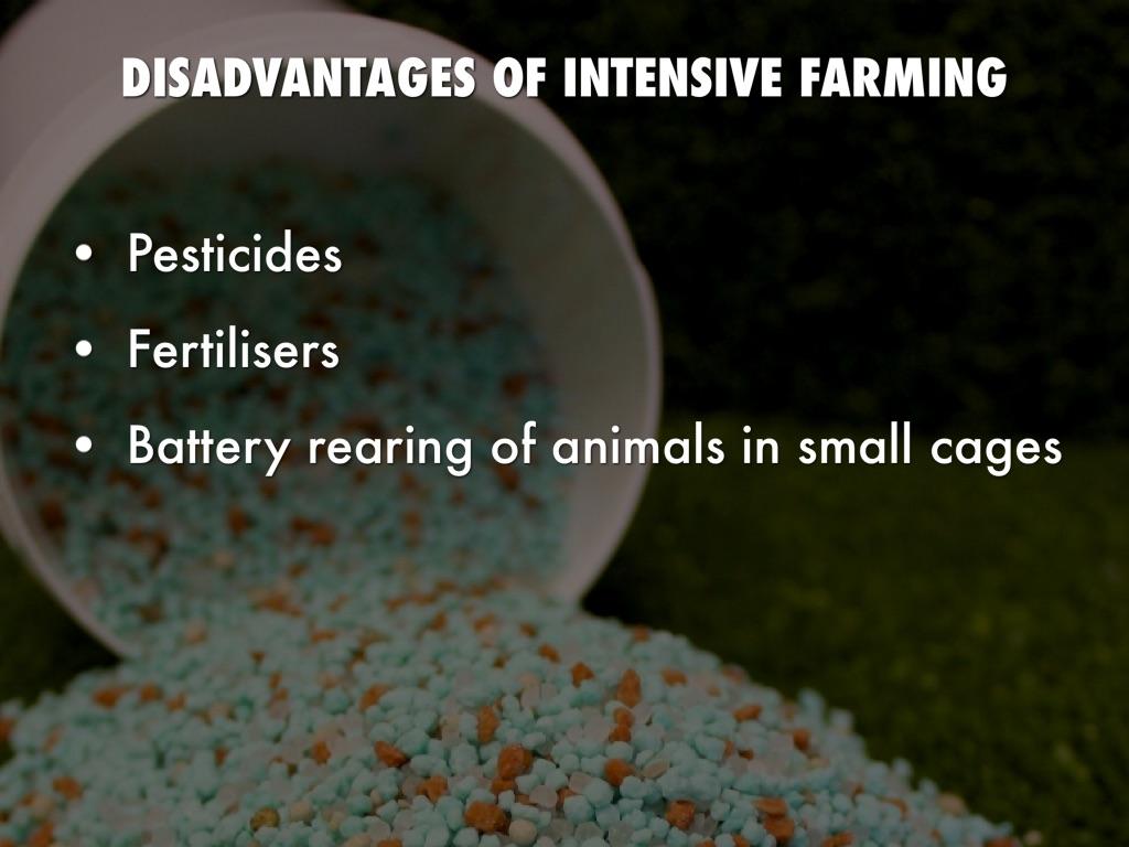 disadvantages and advantages pesticides