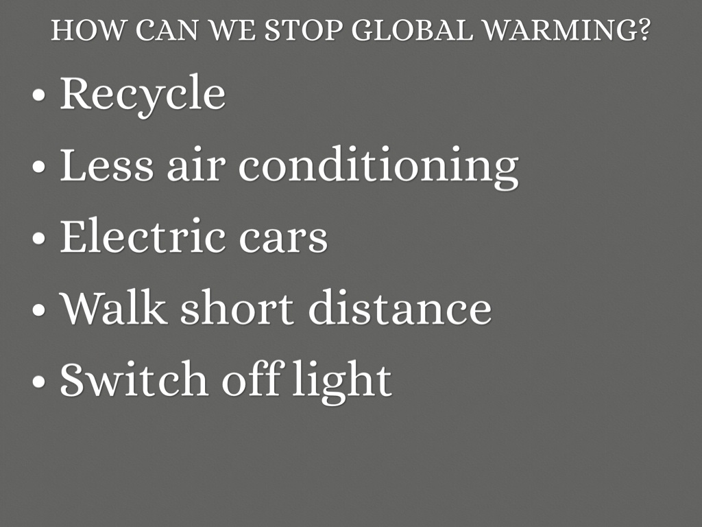 Global Warming And Electric Cars